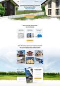 Лендинг - строительство домов